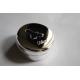 Boîte à dents métal argenté avec gravure