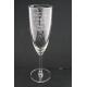Flûte à champagne personnalisée